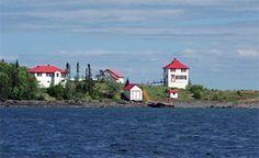 Faro de Isla de Cordero, Ontario Canadá