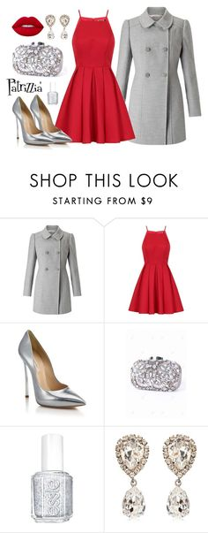 Patrizzia18.11.2016b by patrizzia on Polyvore featuring moda, Chi Chi, Miss Selfridge, Casadei, Dolce&Gabbana, Lime Crime and Essie