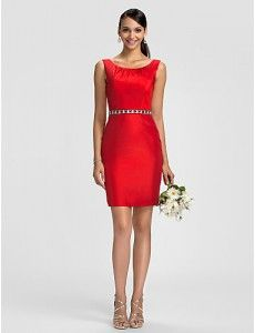 27730fd6d4 10 imágenes fascinantes de Vestidos de dama de honor de color rojo ...