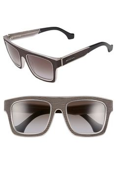 Balenciaga Paris 54mm Square Frame Sunglasses