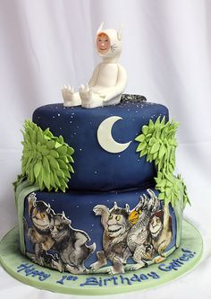Where the wild things are birthday cake