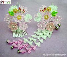A collection of Kanzashi tutorials on a 3rd party website