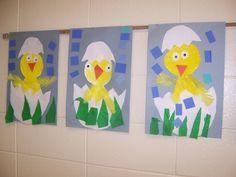 Chick in Egg-Kindergarten