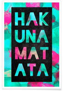 Hakuna Matata 2 als iPhone Hülle von Elisabeth Fredriksson Art Mural, Wall Art, Hakuna Matata, Affordable Art, Stationery, Phone Cases, Art Prints, Design, Gifts