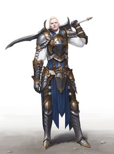 ArtStation - blue knight, Hyeong-seop Lim