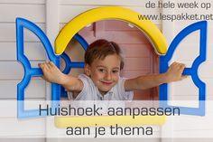 Huishoek: aanpassen aan je thema - Lespakket - thema's, lesideeën en informatie - onderwijs aan kleuters