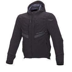 Macna Habitat Textile Jacket Black S Nike Jacket, Rain Jacket, Textiles, Habitats, Hooded Jacket, Windbreaker, Casual, Shopping, Motorcycle Jackets