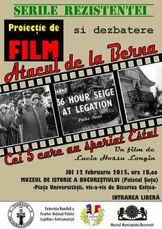 """FILM: Atacul de la Berna - 60 de ani. - Fundatia """"Ion Gavrila Ogoranu"""""""