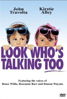 Look Who's Talking Too (1990) ~ John Travolta, Kirstie Alley, Olympia Dukakis