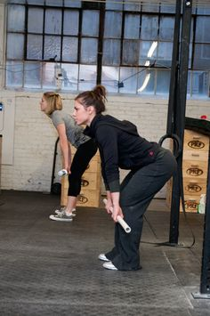 Julie Foucher, Reebok CrossFit's 2011'5th-fittest woman on earth'