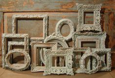 Ornate Frames Blue Collection Gallery Wall $89