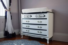 Painted Dresser French Provincial Furniture Shabby Chic - CUSTOM ORDER. $595.00, via Etsy.