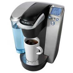 Just got mine and i already cant live without it.Costco: Keurig® Platinum Single Cup Coffee Brewing System.