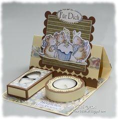 Kerstin's kleine Bastelwelt: Tortenkarte, Penny Black