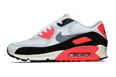 """Image of Nike Air Max 90 PRM Tape QS """"Infrared"""""""