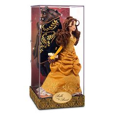 BELLE AND BEAUTY Doll Set - Disney Fairytale Designer Collection. Global Limited Edition of 6000.