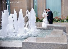 Tairsa and J.R. were married on a rainy, rainy day at the Oquirrh Mountain Temple.
