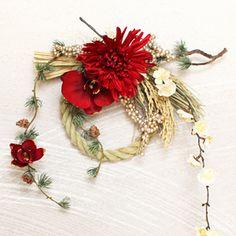 【送料無料】大人かわいいしめ飾り♪お正月しめ飾り、しめ縄│小春