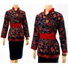 Blouse Batik Wanita Motif Kain Cakar Call Order : 085-959-844-222, 087-835-218-426 Pin BB 249fa83b Blouse Batik Wanita Motif Kain Cakar  Harga: Rp.95.000.-/pcs   stock 15 pcs  ukuran: All Size Blouse Batik, Batik Dress, Batik Fashion, Hijab Fashion, Model Kebaya, Blouses For Women, Designer Dresses, Bell Sleeve Top, Womens Fashion