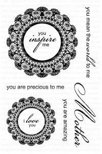 Photo Polymer Stamps Case #30: Clearly Besotted, Delightful Dolies