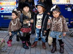 Most Fashionable Kids in Tokyo by tokyofashion, via Flickr