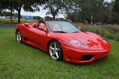 2001 Ferrari 360 Spyder