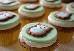 Owl cupcakes! So cute!