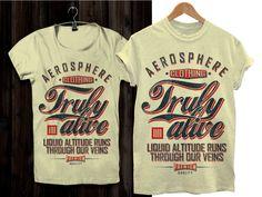 AEROSPHERE IIII Aviation Brand: T-shirt Design T-shirt design #161 by GRAPHELLS