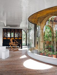 The Labyrinth Home of Xavier Corbero   Yellowtrace