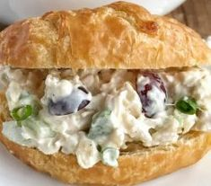 Delicious Chicken Salad Sandwich With Grapes Recipe