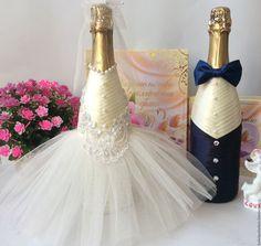 """Купить Свадебное шампанское """" My love"""" - комбинированный, свадебное шампанское, свадебные бутылки"""