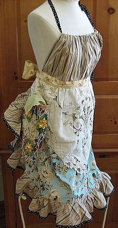 newest  apron called Tea with Jane by calamity kim, via Flickr