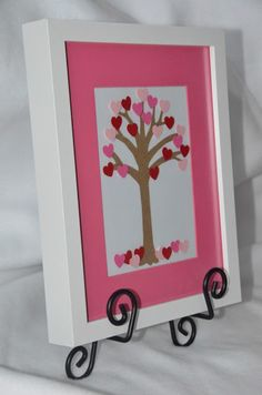 g*rated: Framed Heart Tree