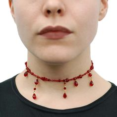 Marie Antoinette's Necklace Tutorial