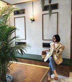 SAGAN Vienna Bucket bag in Seoul, Korea. Seoul Korea, Vienna, Bucket Bag, Hipster, Instagram Posts, How To Wear, Bags, Style, Fashion