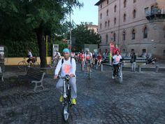 All'arrivo in Piazza Carducci