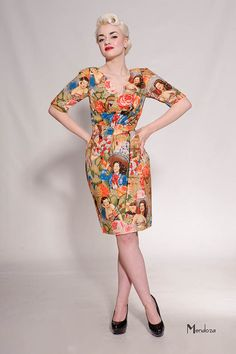 bettypsen bettypsen victoryparadecollection Dresses for Occasions Bold Prints, Floral Prints, Pin Up Style, My Style, Victory Parade, Dedicated Follower Of Fashion, Retro Dress, Occasion Dresses, Pretty Dresses