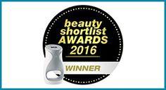 award_beauty. AgeLOC me, ganó el premio 2016 Beauty Shortlist en la categoría de Mejor innovación de belleza en suplemento/aparato/cuidado cutáneo.