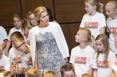 Máxima spreekt over belang muziekonderwijs (fotoserie) - Koninklijk huis - Reformatorisch Dagblad