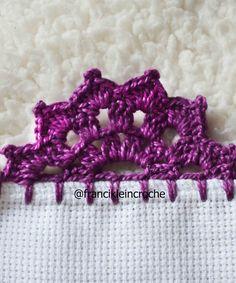 Angel Crochet Pattern Free, Crochet Edging Patterns, Crochet Flower Tutorial, Crochet Lace Edging, Crochet Borders, Filet Crochet, Crochet Designs, Easy Crochet, Crochet Flowers