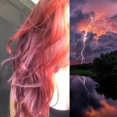 Stormy sunset hair by Leah DiLoretto at Charlotte Thomas Salon 610-933-3100