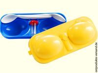 Eierträger 2fach mit Salzstreuer + Löffel
