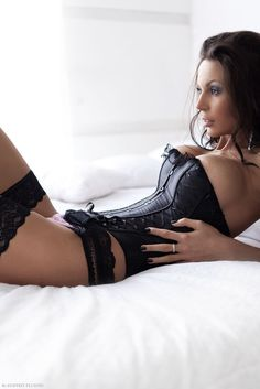 Black Lingerie #lingerie #underwear
