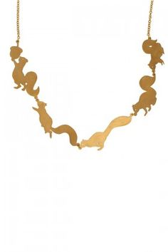 What squirrel lover wouldn't love this necklace as well?