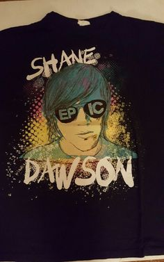 Shane Dawson Mens L T Shirt It Gets Worse I Hate Myselfie Epic Youtube Hot Topic #HotTopic #GraphicTee #ShaneDawson