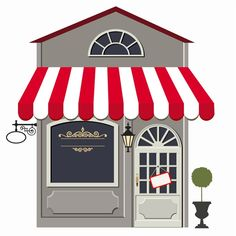 Vector Art : Storefront | Cute Clipart and Drawings | Pinterest ...