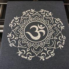 Triathlon Om Mandala Design tshirt!!! Namaste!!