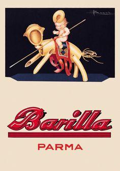 Retro Ads, Vintage Advertisements, Vintage Ads, Vintage Posters, Vintage Food Labels, Vintage Recipes, Italian Posters, Kitchen Posters, Poster Ads