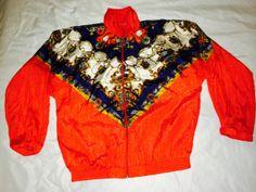 80s nylon track jacket! *LoveMisch Vintage