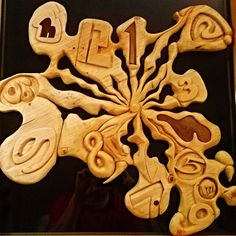 uhr handgeschnitzt dert 1771 Gingerbread Cookies, Desserts, Food, Carving, Clock, Creative, Tailgate Desserts, Ginger Cookies, Meal